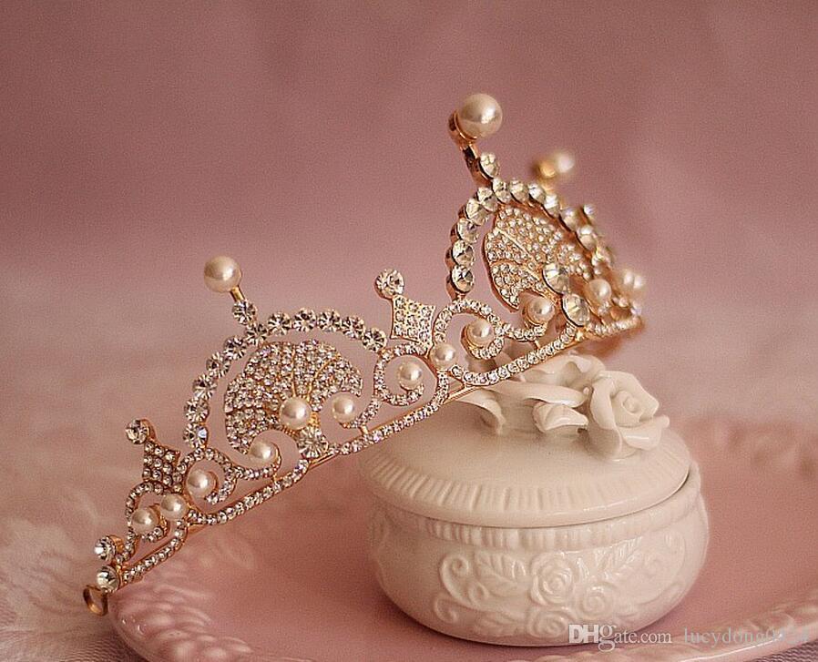 베티버 아이리스 크라운 유럽 클래식 골드 크라운 파티 크라운 아름다움 미인 대회 티아라 웨딩 신부 크라운 티아라 헤어 액세서리
