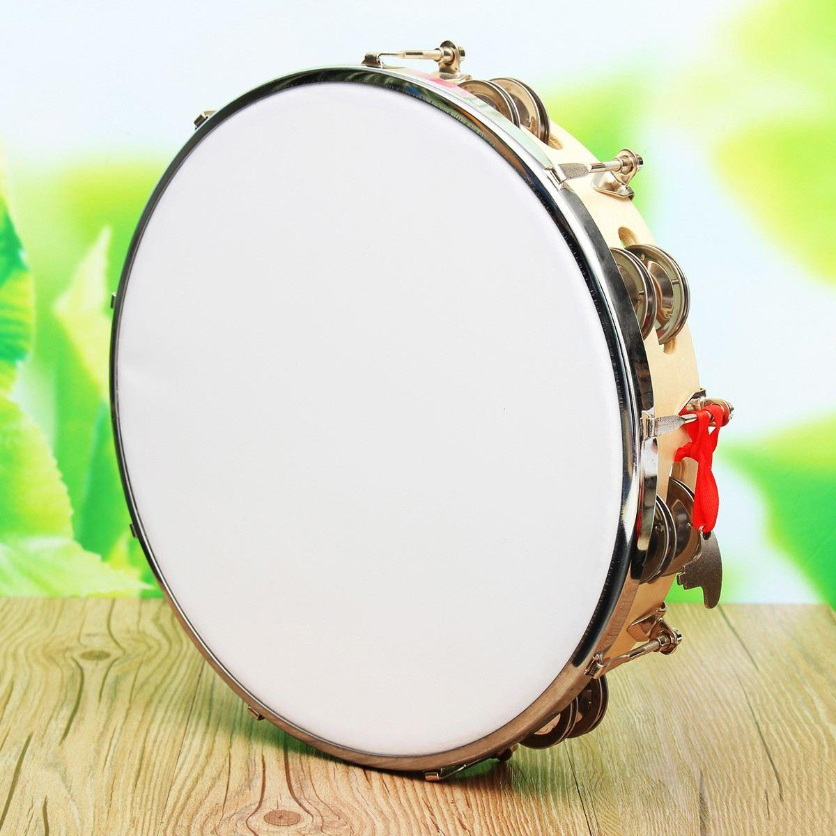 2019 New Arrival 10 Capoeira Leather Pandeiro Drum Music Instruments Tambourine Percussion Membranophone Gifts For Music Lovers From Great89, ...