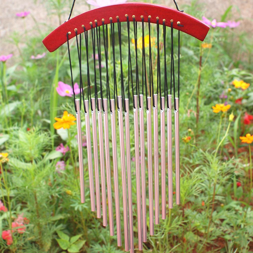 Russian Style 15 Tubes Wind Chimes For Garden Yard Outdoor Wind ...