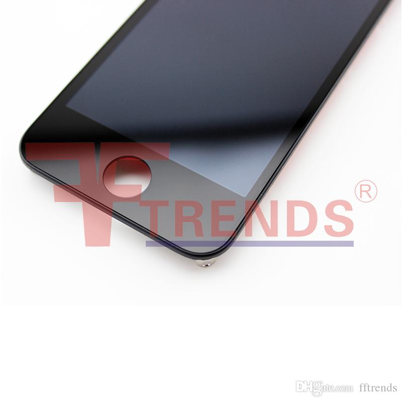 iPhone 4 4S LCD Touch Screen Digitizer Full Assembly prezzo basso nero bianco / spedizione gratuita Cina Post