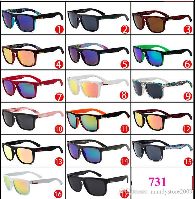 브라질 스타일 여름 Skimboarding 선글라스 QS731 야외 스포츠 스키 선글라스 원래 케이스와 안경 유니섹스 선글라스 서핑