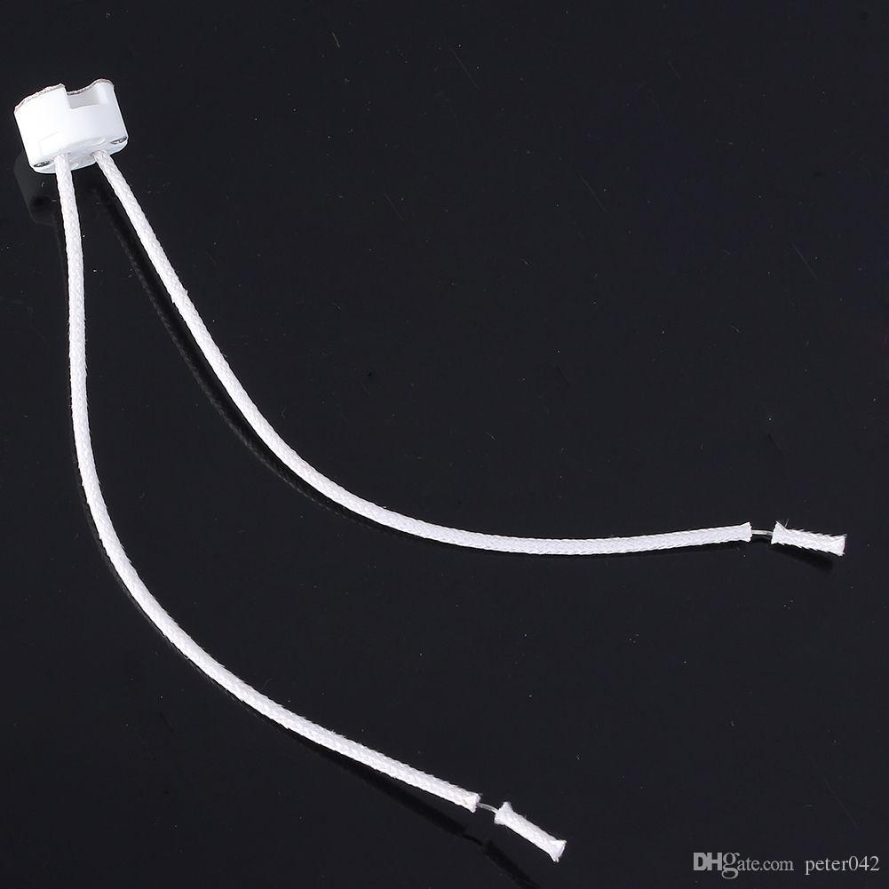 MR16 Socket LED Lampe halogène Base de support de lumière Connecteur de fil en céramique