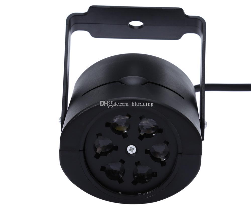 레이저 프로젝터 램프 LED 무대 조명 하트 스노우 크리스마스 파티 조경 가든 램프 옥외 조명 C3159