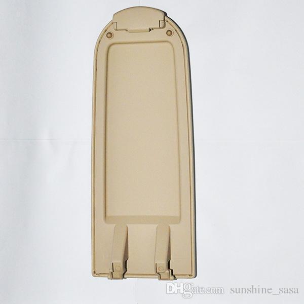 Schwarz / beige Qualität OEM ARMLEHNEN ABDECKUNG ZENTRALKONSOLE VERRIEGELUNG FÜR VW JETTA / GOLF / BORA MK4 / GTI / R32 / POLO 9N3 ALLROAD foSKODA LAVIDA