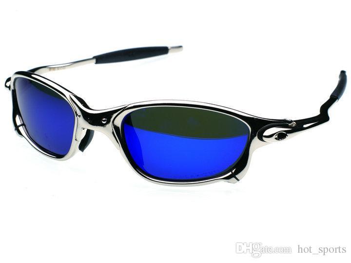 d6a86d557 Compre Original Men Romeo Ciclismo Óculos Polarizada Aolly Juliet X Óculos  De Sol De Metal Óculos De Proteção Da Marca Designer De Marca Oculos Cc005  3 De ...