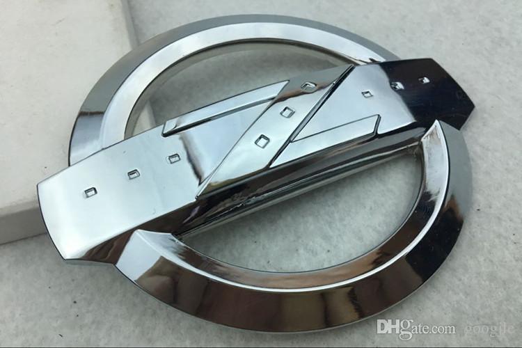 Nissan 3D Metal Yüksek Kalite Gümüş Siyah Çinko Alaşım Z Sembol Araba Ön Arka Vücut Amblem Sticker Fit 350Z 370z FairLady Z33 Z34