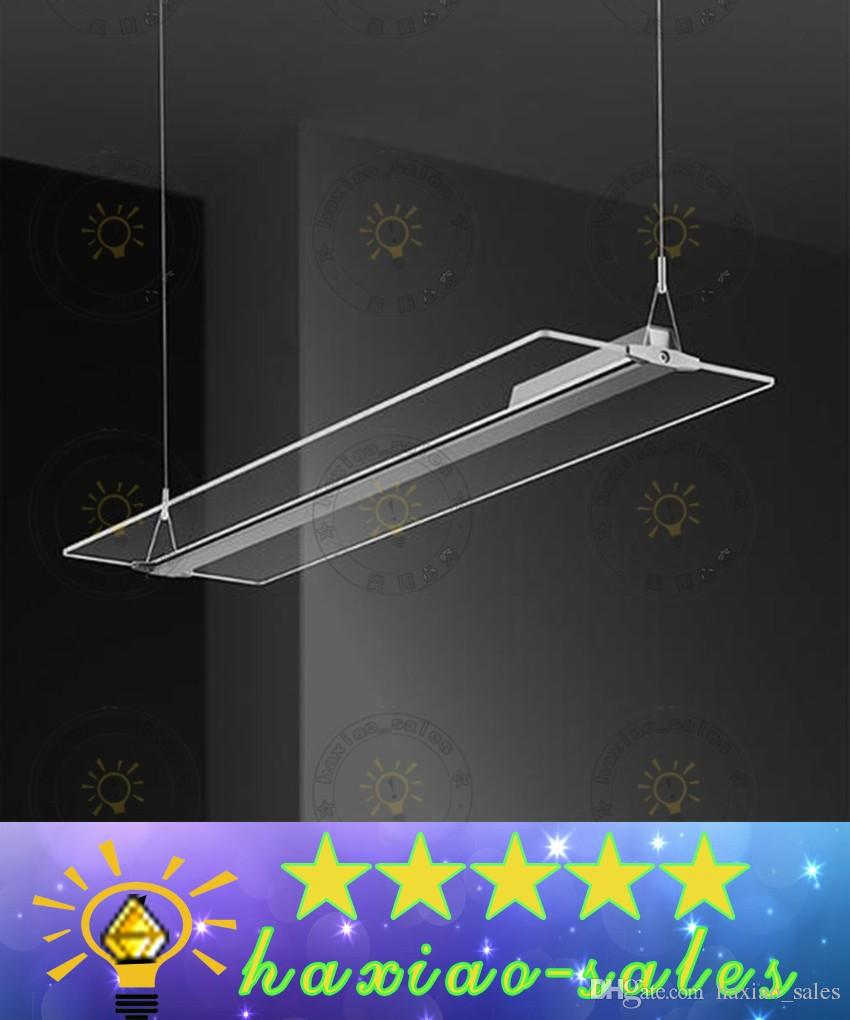 creative led lighting. Led Frameless Light Guide Plate Droplight Living Room Restaurant Hotels Office Crystal Chandelier Creative Panel Pendant Lamp Hanging Lighting L