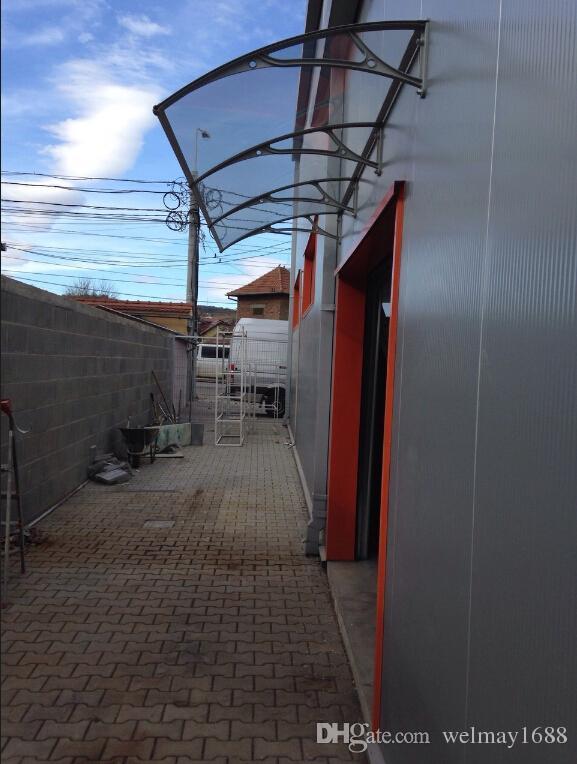DS100300 A,100x300cm.depth 100cm,width 300cm.white/black/grey Aluminum Door  Awning,stong Aluminum Frame Entrance Door Canopy Entrance Door Canopy ...