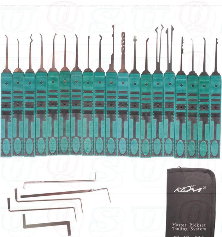 KLOM original, 32 piezas, herramienta de selección con bloqueo, selección superior, herramientas de cerrajería, envío gratis