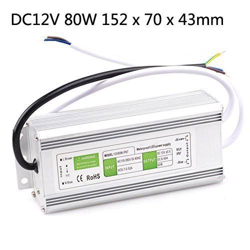/ DC 12V 10W 15W 20W 30W 36W 50W 60W 80W 100W 150W 200W principale esterna impermeabile trasformatore principale driver di interruttore di alimentazione IP67