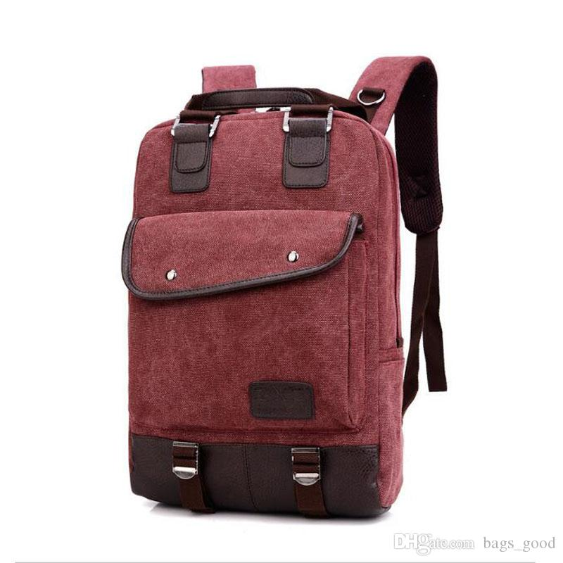 724faa78a Compre Adolescente Menina Homens Casuais Estudante Saco De Escola Do Vintage  Mulheres Mochila De Lona Moda Mochilas De Viagem Bolsa Para Laptop De  Bags_good ...