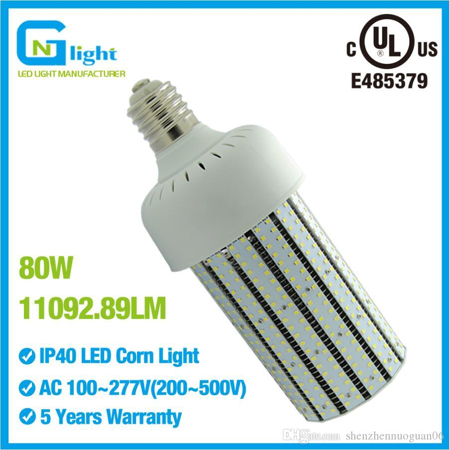3fbc0843 UL Listed 250W MHL Replacement Led Corn Bulb 80w Lighting,High Efficiency  SMD2835 LED Bulbs Lamp Light Bulbs Direct T5 Bulbs From Shenzhennuoguan06,  ...