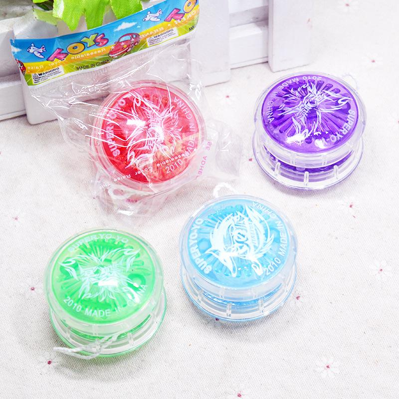 4 Colors Magic Yoyo Professional plastic Ball Bearing with String Kids Toys Yoyo for Gift LUCKY PIGLET 2017new