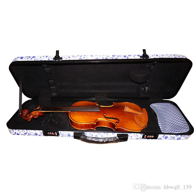New Fashionable High Quality Violin Case Composite Carbon Fiber Full Size 4/4