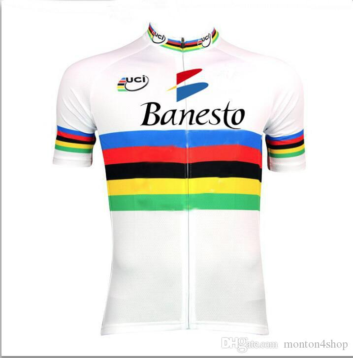 Banesto UCI mens Ropa Ciclismo Cycling Clothing/MTB Bike Clothing/ Bicycle Clothes/2019 cycling uniform Cycling Jerseys 2XS-6XL D1