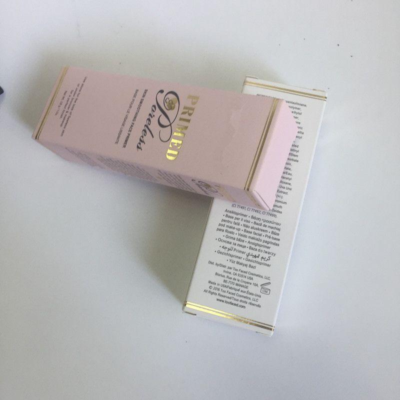 2017 Recién Llegado de Maquillaje Base Primer Impermeable Cosméticos Faciales Desgaste Natural 28g 1 Onza Imprimación y Poreless Primer Envío gratis Maquillaje