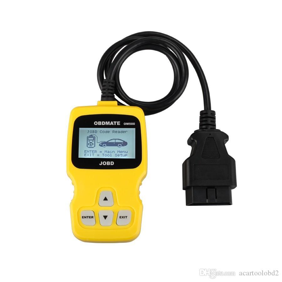 OBDMATE OM500 JOBD / OBDII / EOBD Codeleser Selbstscanner OM500-Code-Scanner mit niedrigerem Preis geben Verschiffen frei