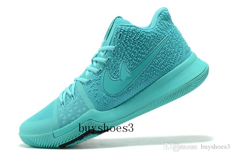 the best attitude f40e1 5e5ef Cheap Usa New Kyrie 3 Triple Black Basketball Shoes For Sale Kyrie Irving 3  Sneakers 852396 005 Men Casual Shoes Sports Shoes Size Us7 Us12 Pink Shoes  ...