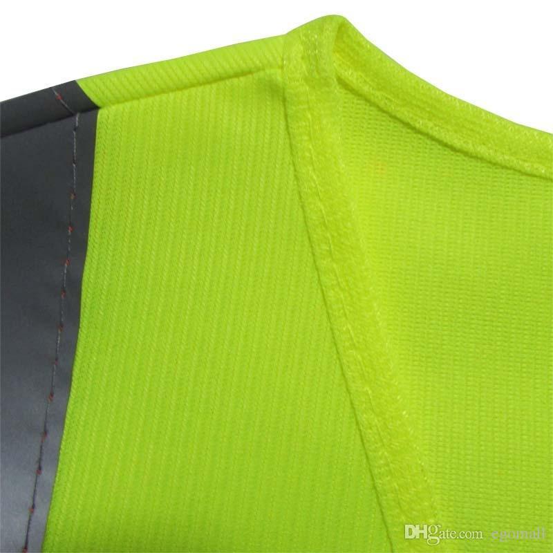 yüksek ışık yansıtıcı yelek yelek Yansıtıcı Güvenlik Giyim İşçi Temiz sağlık karayolu trafik yansıtıcı uyarı