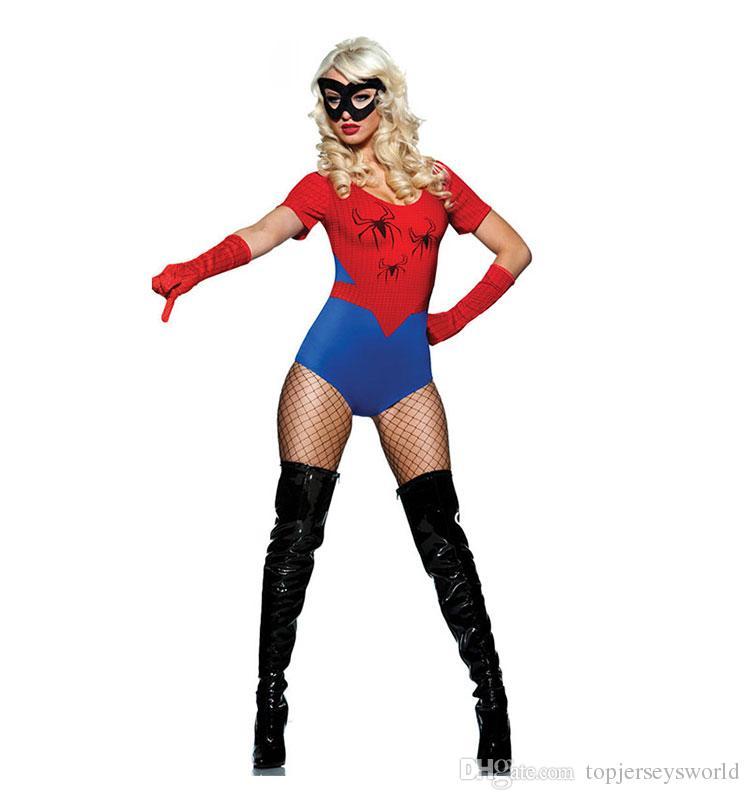 Sexy spiderman costumes