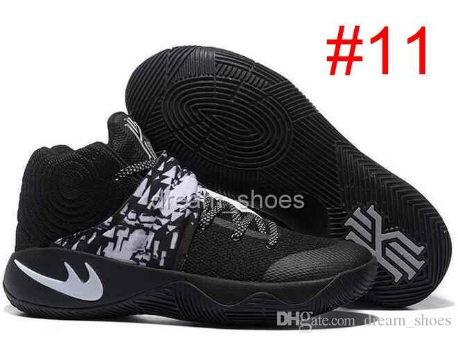 official photos 84e85 2d92b 2016 Kyrie Irving Shoes Black Gold Champion USA Triple Black Kyrie 2 Mens  Basketball Shoes Kyrie 2s Sneakers Basketball Gear Basketball Sneakers From  ...
