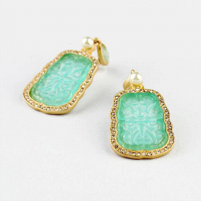 2018 Earring Gold Top Quality New Design Accessorie Vintage ...