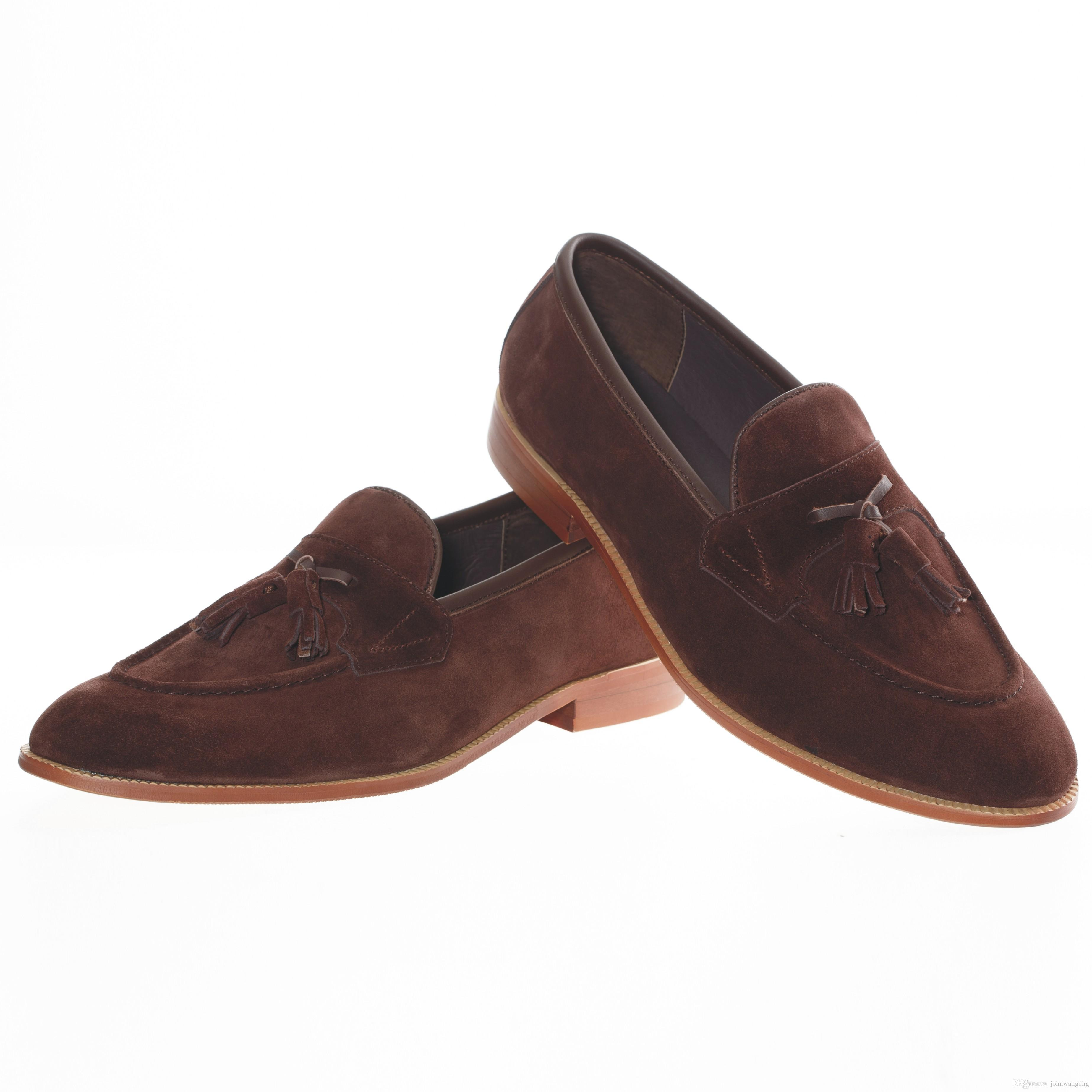 Mens Brown Shoes Size