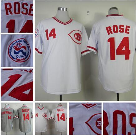 4375de9b66f ... clearance 2017 fast cincinnati reds jersey 14 pete rose jersey  embroidery baseball jersey from vancltrade bc040