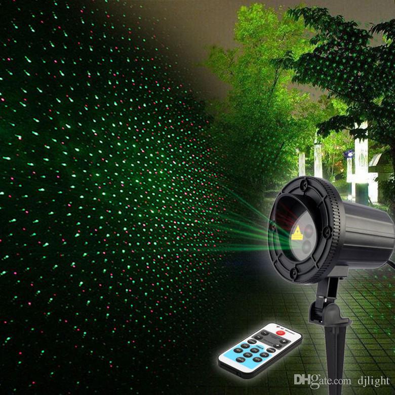 4199b287a8d Compre 2016 Nueva Luz Impermeable De La Etapa Del Laser Del Ip65 Al Aire  Libre