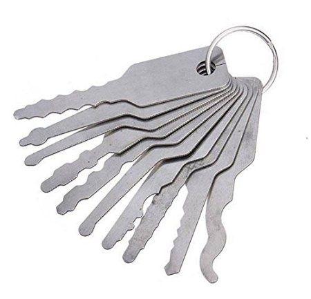 jiggler clés verrouillent choisir des outils mis en place pour le verrouillage à double face choisir des outils de verrouillage de cueillette outils de serrurier