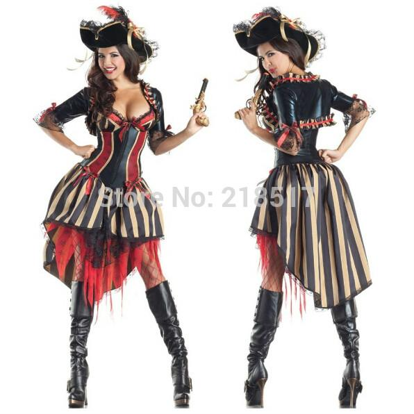 Pirates Of The Caribbean Cosplay Dress Halloween Female Pirate Costume Party Costumes Ds Uniforms Adult Cosplay F 1040 A Team Costumes Cheap Group Costumes ...  sc 1 st  DHgate.com & Pirates Of The Caribbean Cosplay Dress Halloween Female Pirate ...