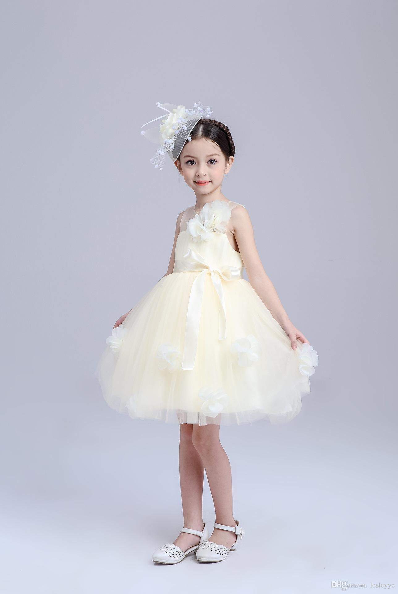 a9877c5bb197 2019 Summer Girls Clothes Girls Princess Party Layers Of Dress Kids Wear  Casual Dresses Fashion Princess Dress Children Clothing Lace Dresses From  Lesleyye