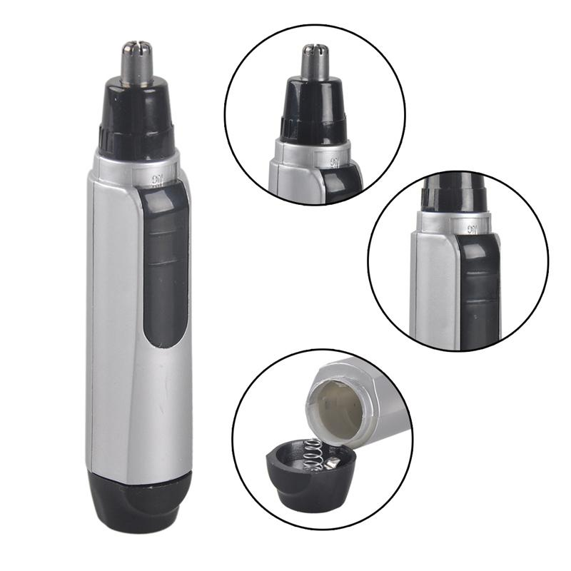 Nose Ear Face Hair Trimmer Electric Shaver Clipper Battery Powered Operated Cleaner from both Men and Women FREE SHIPPING 0606018