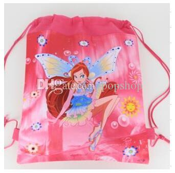 New Style !Winx Club fashion backpack popular schools bags good quality canvas cartoon kids backpack