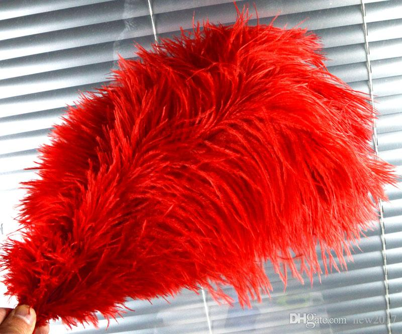 CHINAZP Factory New 100 Hot Sellling 25-30cm10-12inch DIY Ostrich Feathers Plume Centerpiece for Wedding Party Decorations