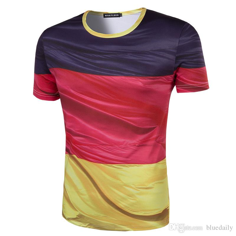 graphic relating to Printable German Flag identify Contemporary Gentlemen Printing 3D Germany flag T-blouse Small Sleeve Summer months Don Best Tees Large Excellent Spherical Neck males T blouse