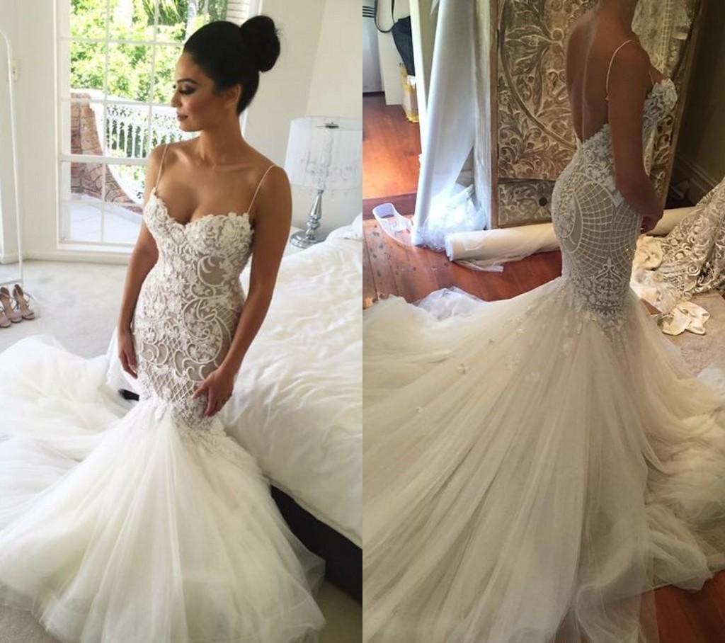 Großhandel 2017 Neue Wunderschöne Meerjungfrau Hochzeitskleid Saudi ...
