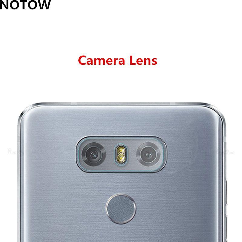Flexible Rear Transparent Camera Lens Tempered Glass Film Protector Case For LG G6 G600S H870 H870K H870S H870V