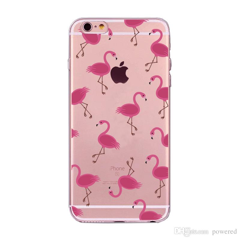 For Apple iphone 7 7plus 6 6S plus SE hand-painted case Luxury ultra thin Plating Crystal Clear TPU Silicone Case Cell Phone Cases