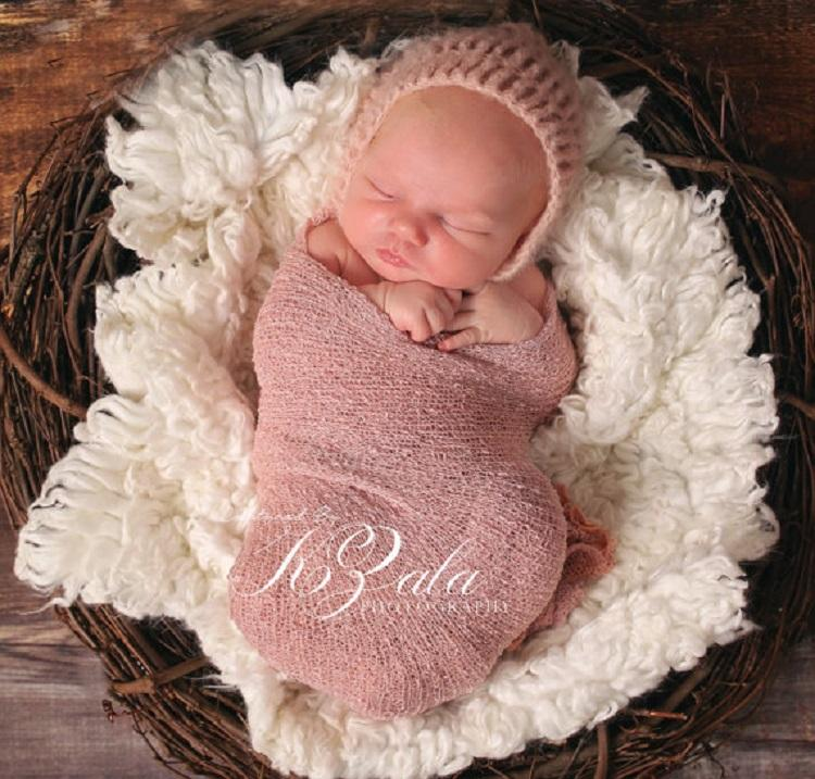 Prettybaby Newborn Colorful Wraps Scarves Elastic Infant Baby Shoot