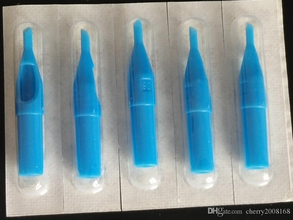assortiti 5,7,8,9DT Azzurre Corte monouso diamante punte del tatuaggio Kit gli aghi Tattoo Supply