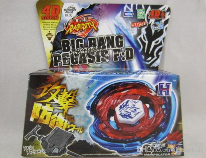 ALL 45 MODELS Beyblade Metal Fusion 4D Launcher Beyblade Spinning Top set Kids Game Toys Christmas Gift for Children