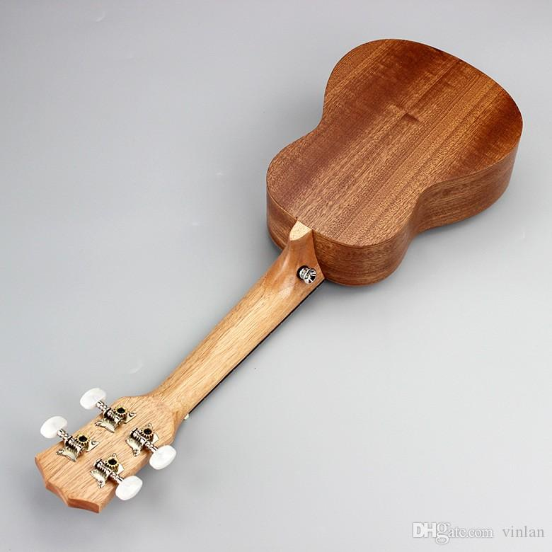 "21-6 21"" Ukulele Mahogany Acoustic guitar Rosewood Fretboard 4-strings guitarra musical instruments Wholesale"