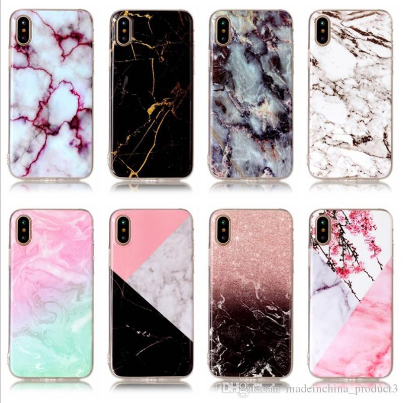 Silicone Marble Phone Case Shell Landscape Tpu Cell Phone