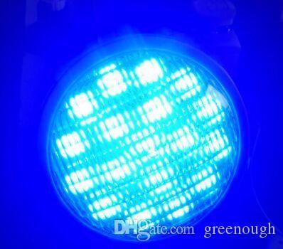 25W AC / DC 12V IP68 للماء LED حمام سباحة ضوء RGB الفولاذ المقاوم للصدأ عالية الطاقة تحت الماء LED Par56 بقعة مصباح