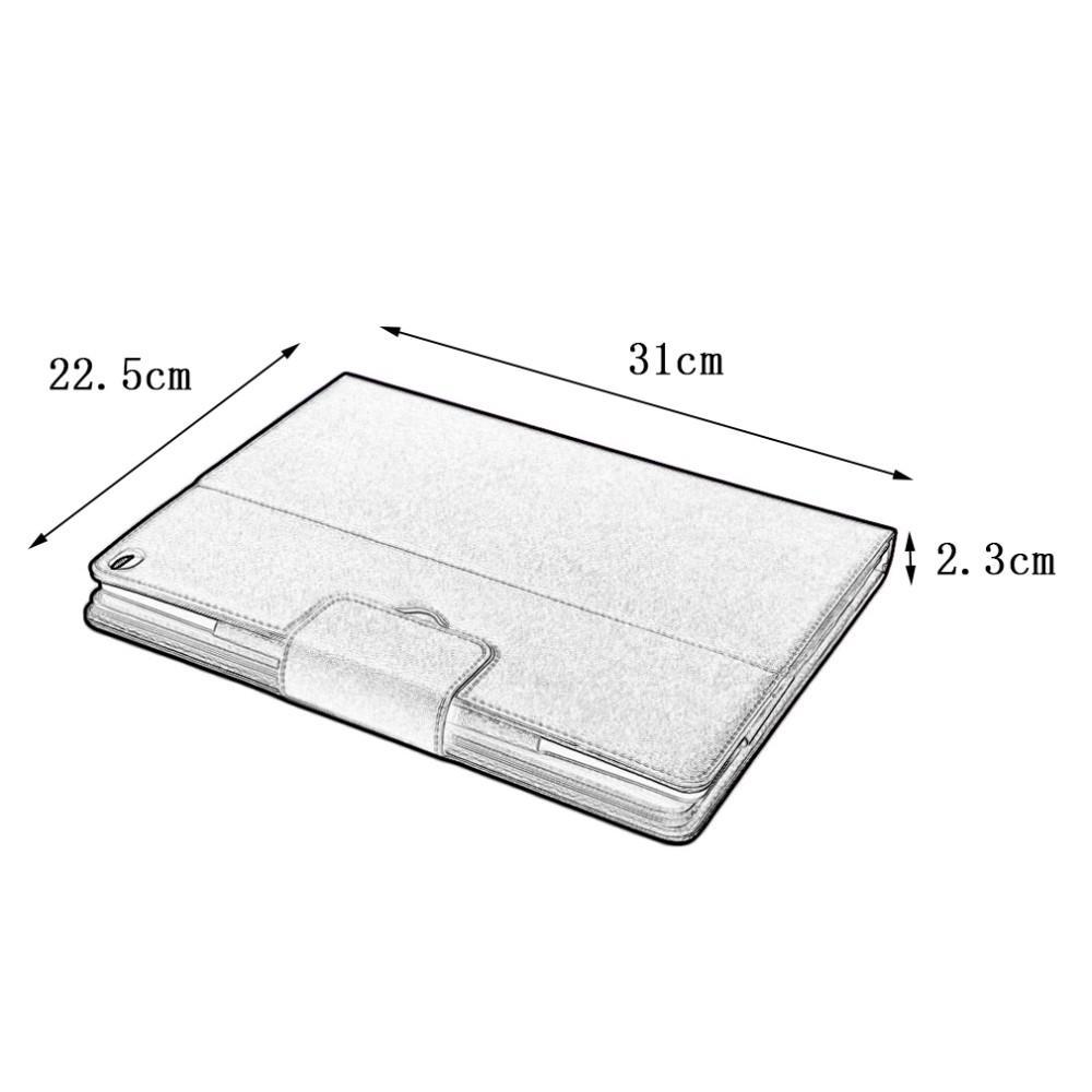 2 in 1 PU Leather Flip Wireless Bluetooth Keyboard Case Cover for Apple iPad Pro iPad 1 2 3 4 5 6 7 Air ipad5 ipad6 12.9