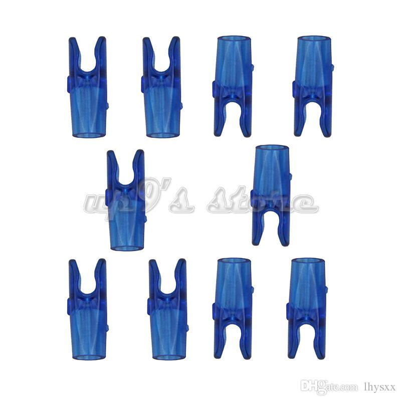 transparent bleu / orange pin s épingles pour axe en aluminium de carbone 6.2mm