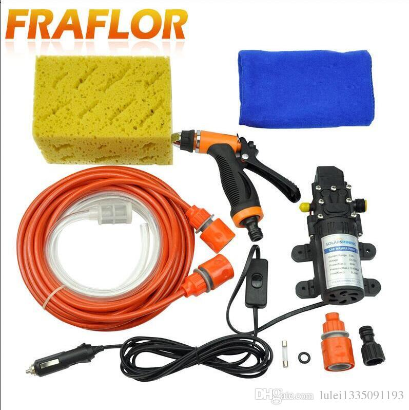 Portable High Pressure Self Priming Electric Car Water Pump V Wash Washer Ford Edge Escapre Expedition Explorer F  Fiesta Focus  From