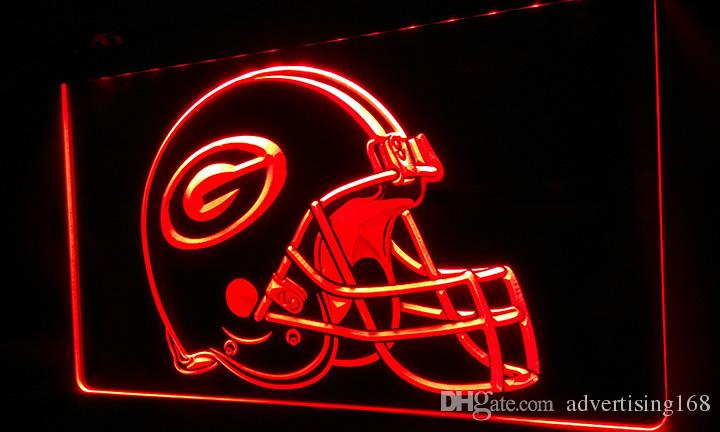LS402 R Green Bay Packers Helmet Neon Light Sign Light Signs 3D Night  Light Online With $12.99/Piece On Advertising168u0027s Store | DHgate.com