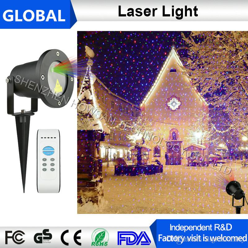 Magic Prime Christmas red green blue Christmas Laser Light Star Projector IP65 Waterproof for Seasonal Decorative Valentine Wedding Party